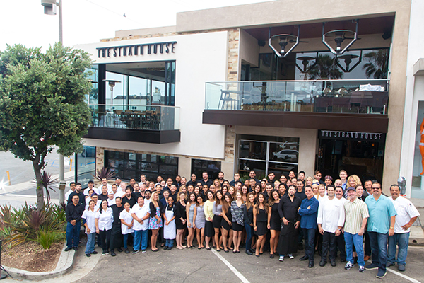 Staff Photo Exterior Of The Strand House
